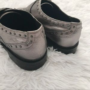 Marc Fisher Shoes - NWOT ✨ Marc Fisher Pewter Bryleigh Strap Loafer